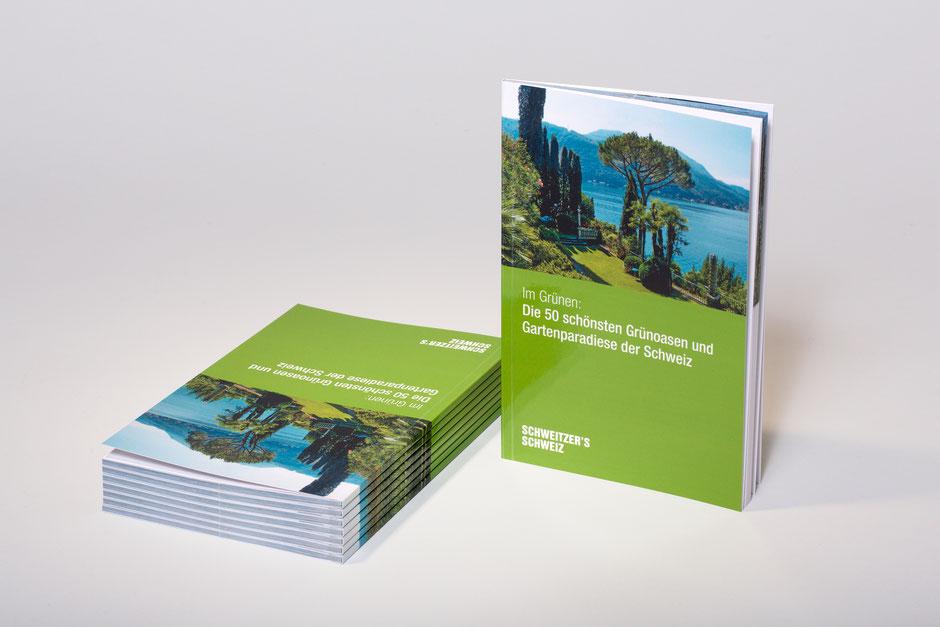 Weekendtipp-Booklet mit 50 Tipps zu einem Reisethema in der Schweiz