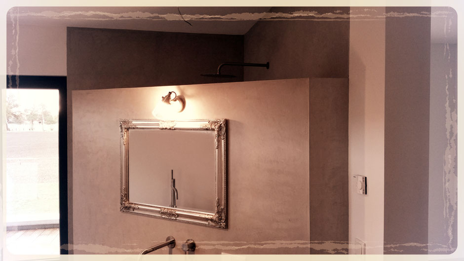 Badezimmer renovieren fugenlos mit Volimea von Maler Tommaso aus Lippstadt