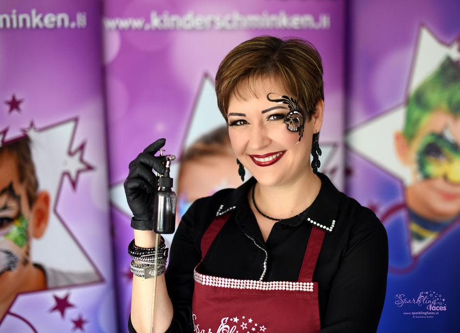 www.kinderschminken.li_Kinderschminken_Vorlagen_Schminkfarben_kaufen_ Kurse_Schweiz_Svetlana_Keller_face_painting_airbrush tattoos