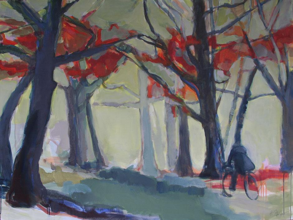 Herbstwald 160 x 120