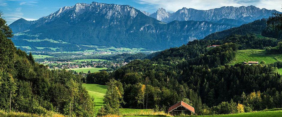 Gasthof auf 660 Meter Höhe in Oberaudorf der Berggasthof Hummelei