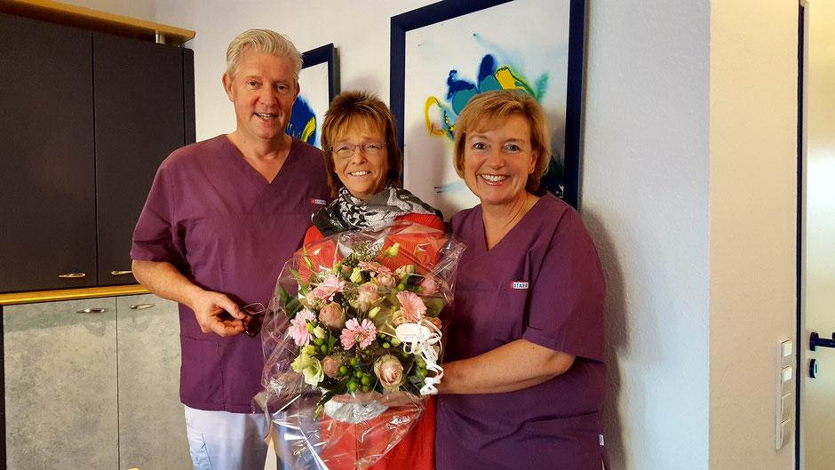 Iris Scheele, Thomas Nikel & 10.000 Patientin