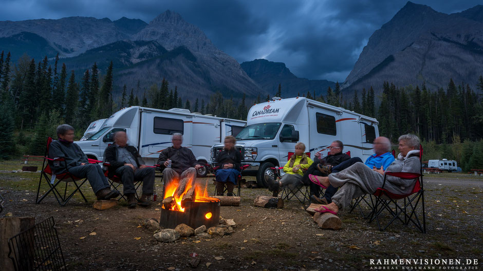 Campground Hoodoo Creek, Yoho NP Foto: © Andreas Kossmann, Rahmenvisionen.de