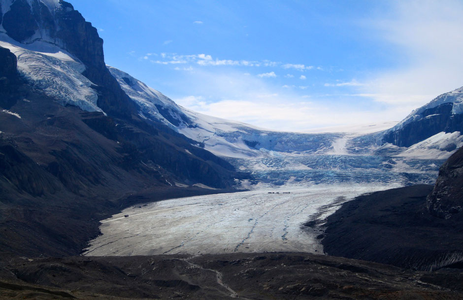 Columbia Icefield, Icefield Parkway, Jasper NP - © Andreas Keller, Wuppertal