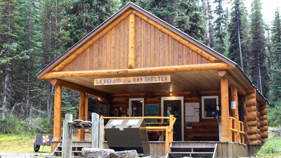Le Relais, Day Shelter, Lake O'Hara, Yolo NP