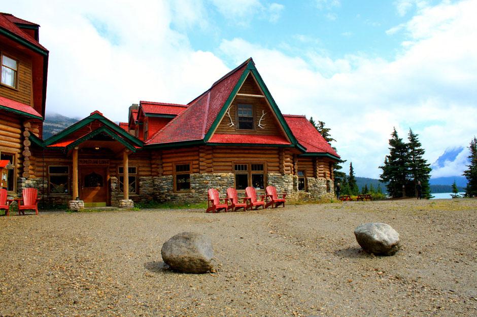 Num-Ti-Jah-Lodge, Baow Lake, Icefield Parkway, Banff NP