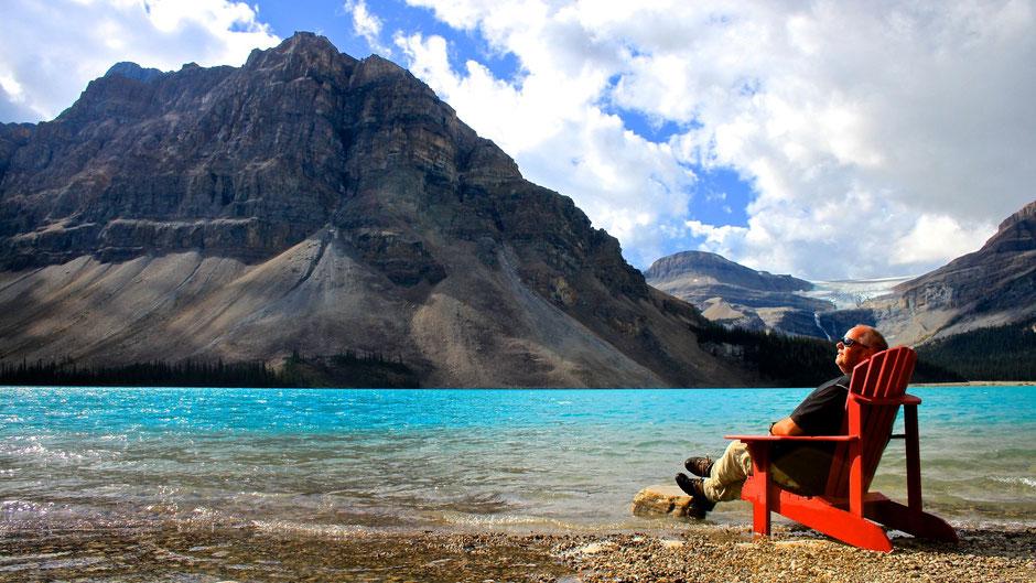 Andreas Keller, Canada Natur pur, Tourguide Kanada, Wohnmobile, Bow Lake,