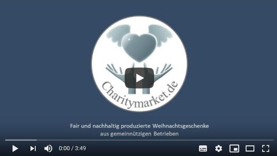 Charitymarket fair und nachhaltig produzierte Weihnachtsgeschenke
