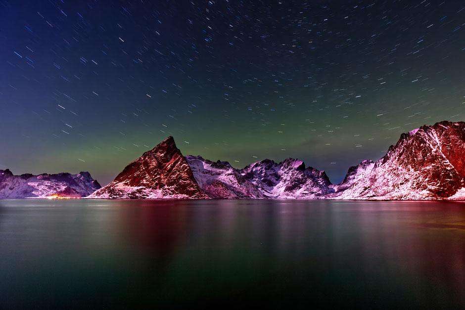 Star Trails Lofoten II