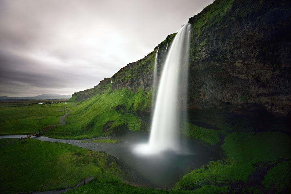 waterfall, Seljalandsfoss
