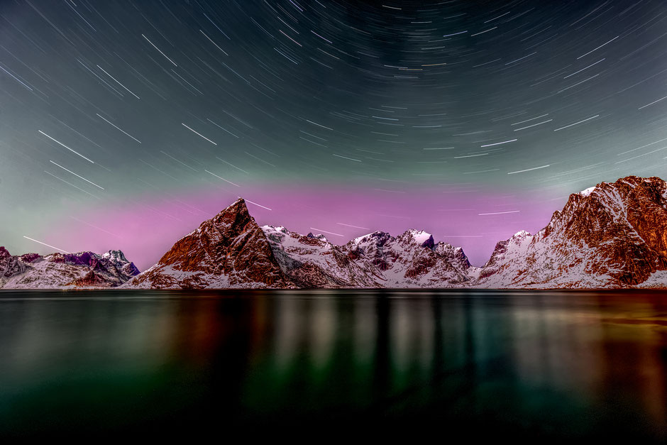 Star Trails Lofoten