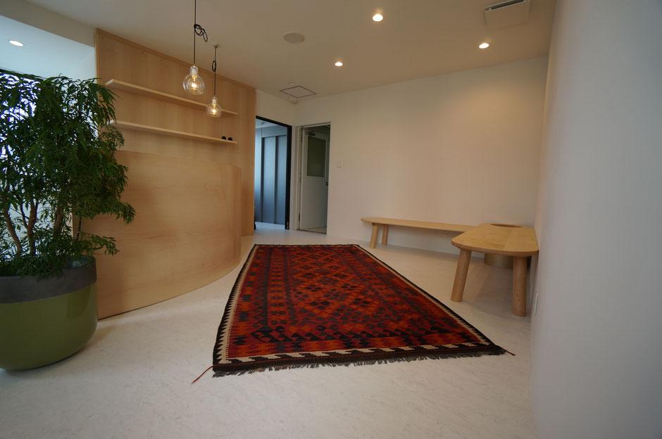 ホットヨガスタジオ内装工事&家具製作