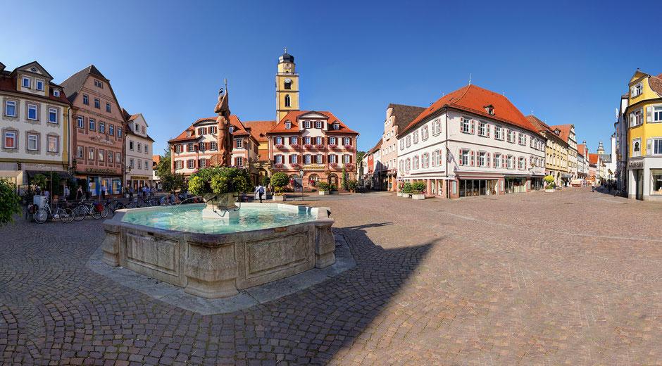 Stopp in Bad Mergentheim und dem Deutschordenschloss