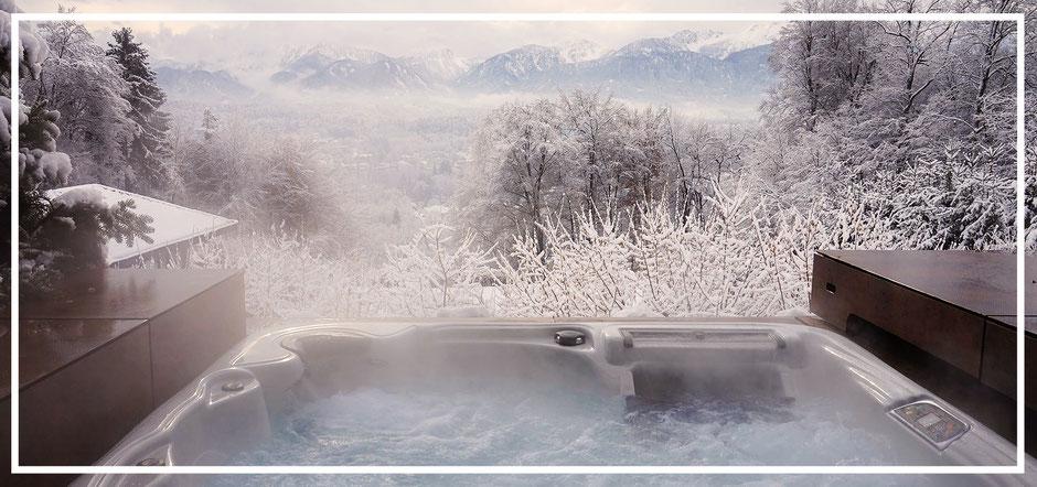 Gegen Kälte hilft am besten ein Artesian Spas Whirlpool