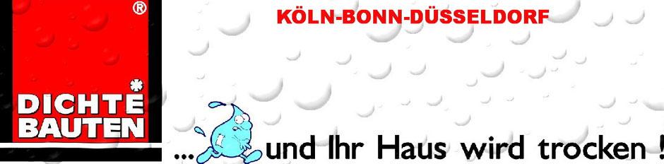 Dichte Bauten Logo mit H2O