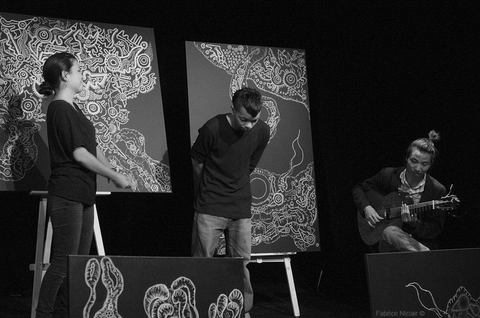 2013 Nepenthe -LivePaint & Music in Paris, Auguste Théâtre 11e