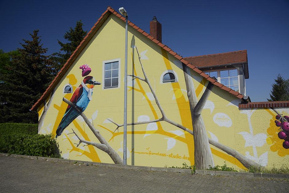 Wandmalerei kunst - Wandmalerei berlin ...