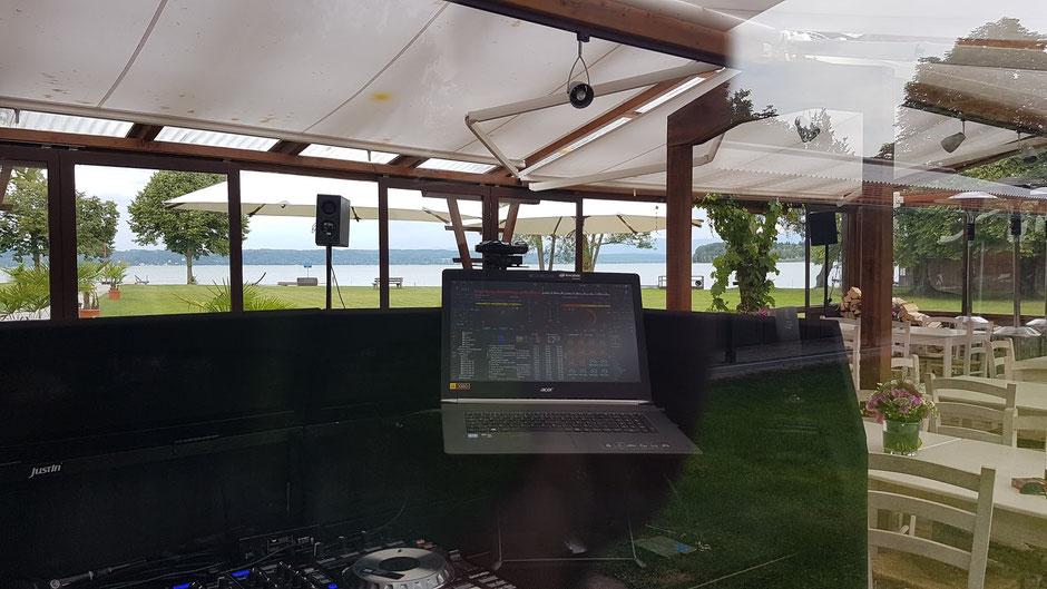 Party feiern am Starnberger See. In Tutzing direkt am See gelegen liegt das Südbad. Mit weitem Blick über den See können Sie hier mit Ihren Gästen Ihre Feier genießen.