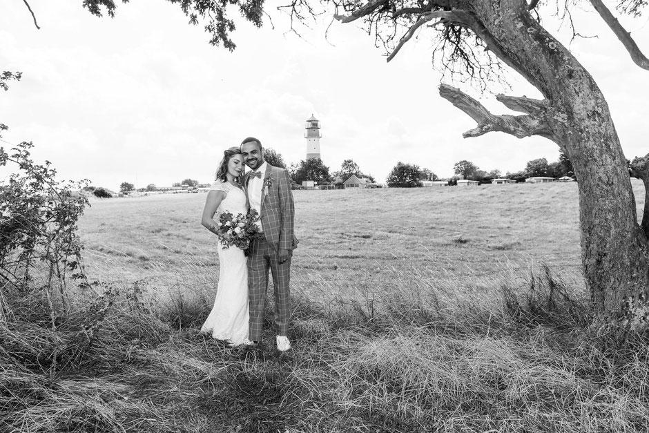 Hochzeit im Leuchtturm Falshöft