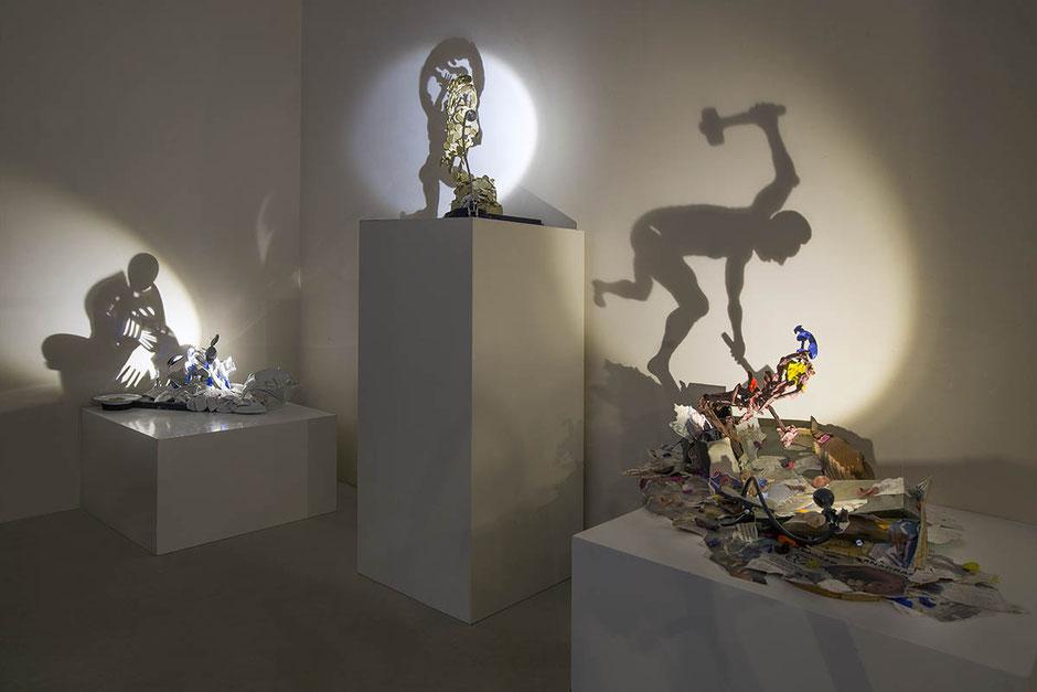 Shadow sculptures by Diet Wiegman