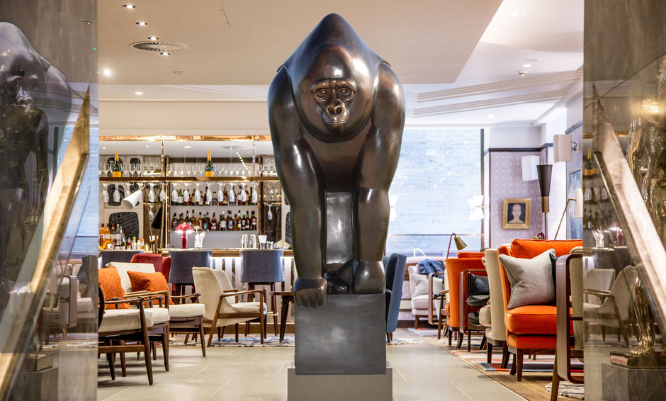 Big Good Gorilla in Devonshire Club & Hotel London