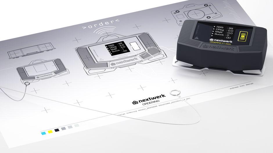 Produktdesign Ordering Sensor, https://www.nextwerk-solutions.com/ordering/