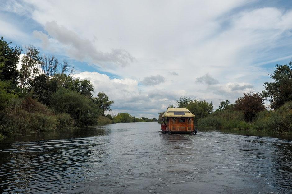 untere Havel, Hausboot