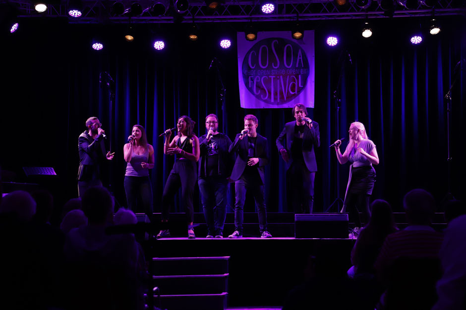 Seht Berlins neue Vocal Band live @ COSOA am 17. August 2019