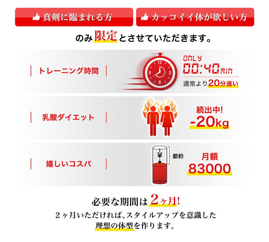 新宿、表参道、渋谷の格安のパーソナルトレーニングが口コミで話題に!30代、40代、50代のダイエット、トレーニングが行えます。都内のパーソナルジムとしても人気が出てきています。