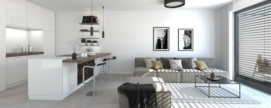 Wohnung: 2 Zimmer