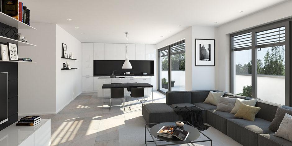 Penthouse: 3 Zimmer