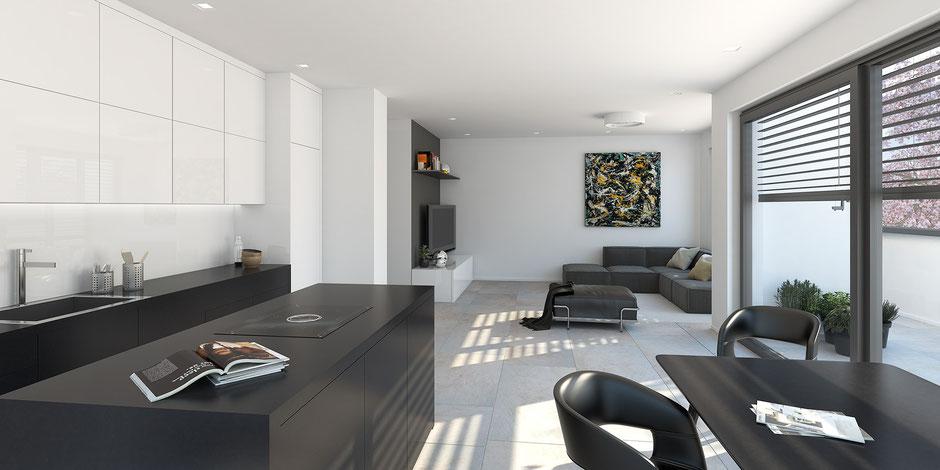 Penthouse: 2 Zimmer