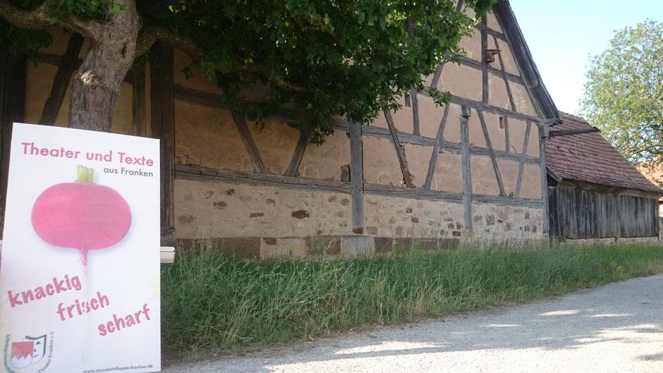 ... die Mailheimer Scheune, eine tolle location - mit einer wunderbaren Stimmung & Akustik!!