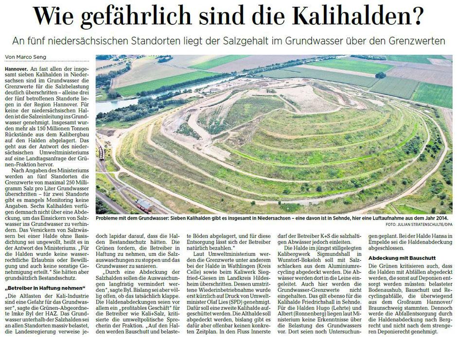 Quelle: Hannoversche Allgemeine Zeitung, 18.02.2019
