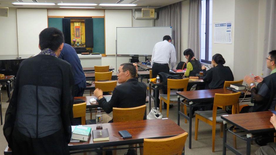 福間先生の法話研修会