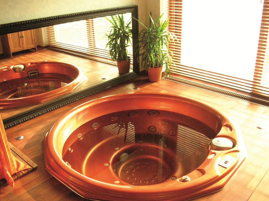 whirlpool rund komplett eingebaut