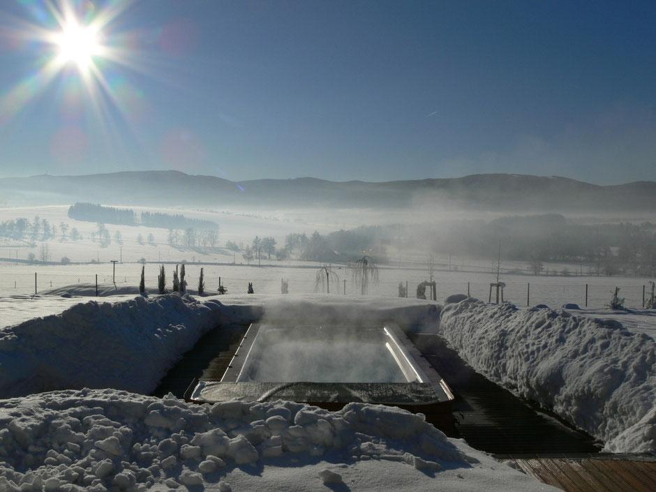 schwimmspa im winter