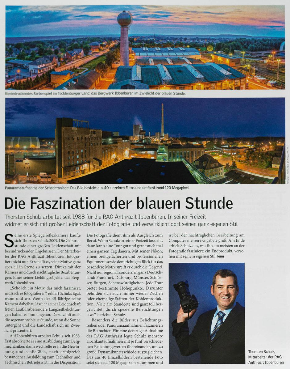 """Mitarbeitermagazin """"Steinkohle"""" der RAG AG, Ausgabe 05/2016"""