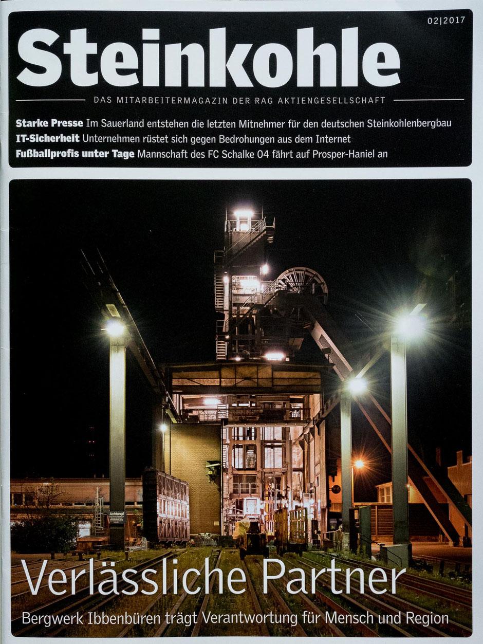 """Mitarbeitermagazin """"Steinkohle"""" der RAG AG, Ausgabe 02/2017"""