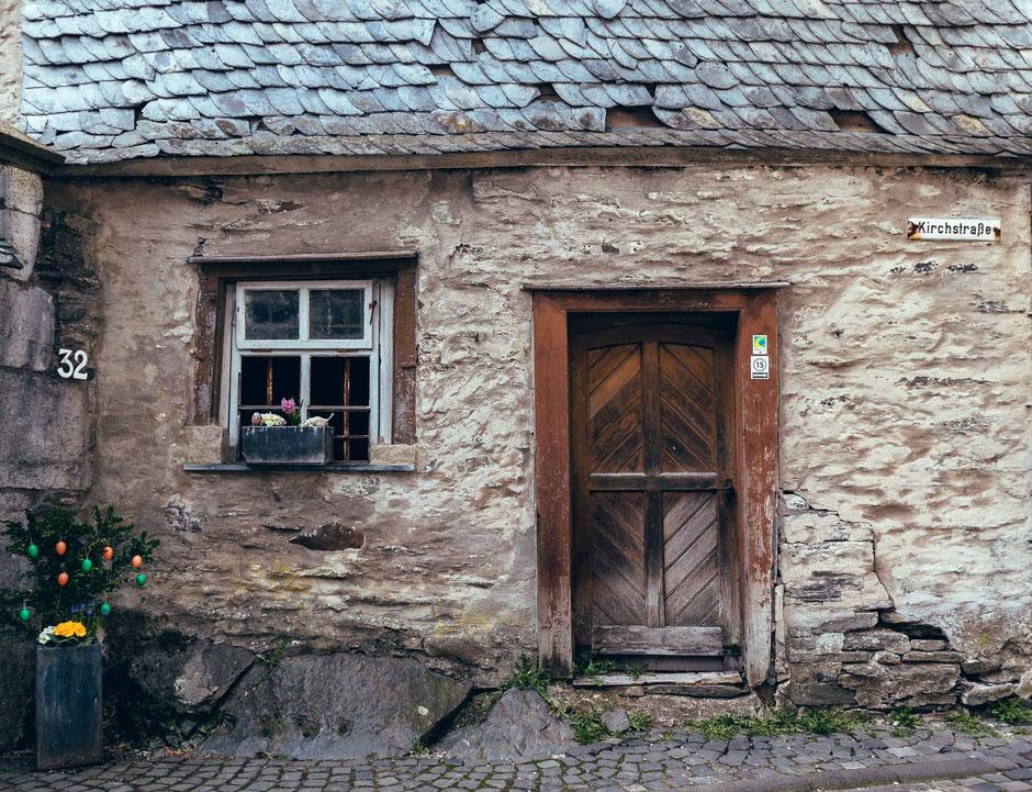 Monschau, Eifel, NRW, Deutschland, Architektur, Türen und Fenster, Türen, Fenster, Fassaden, Alte Türen