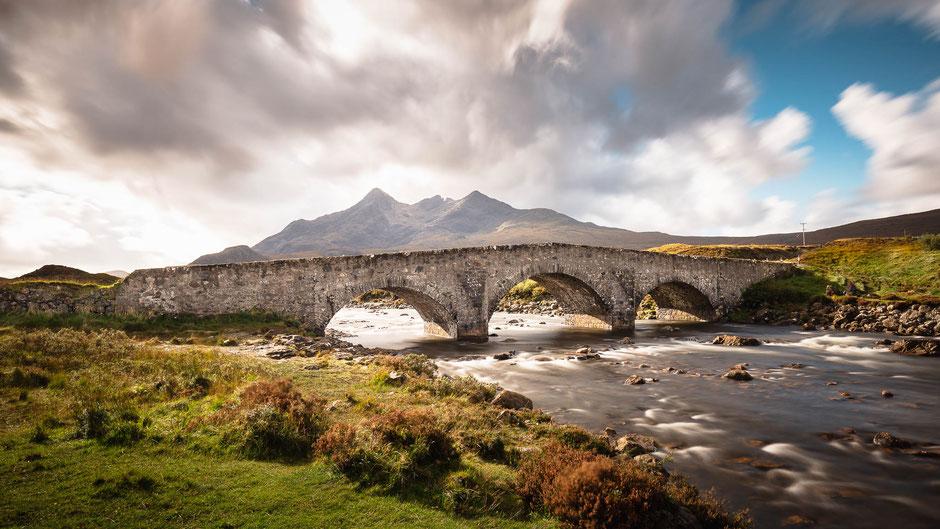 Sligachan Bridge, Isle of Skye, Schottland