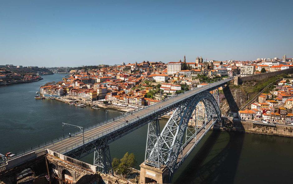 Ponte Dom Luís I, Porto, Portugal, Architektur, Brücken