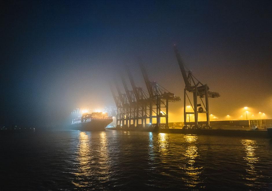 Hamburger Hafen, Ladekräne, HAmburg, Deutschland