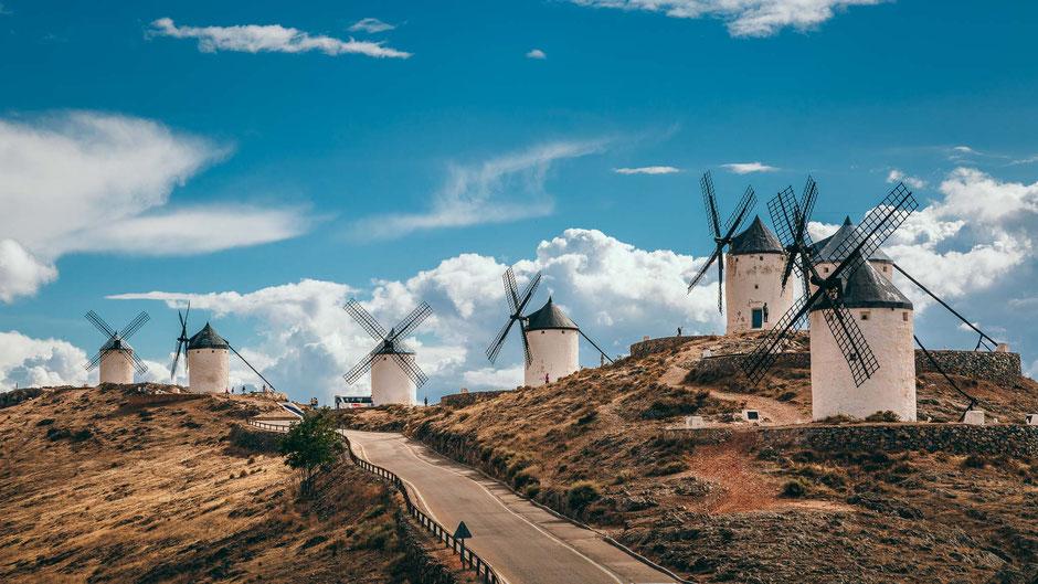 Molinos de Consuegra, Spanien