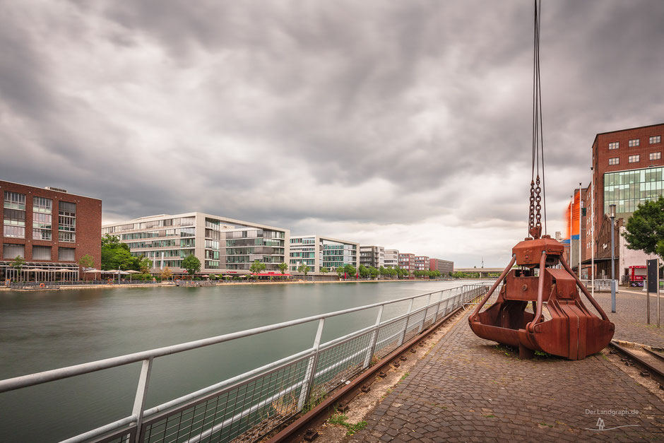 Duisburg Innenhafen, Duisburg, Deutschland