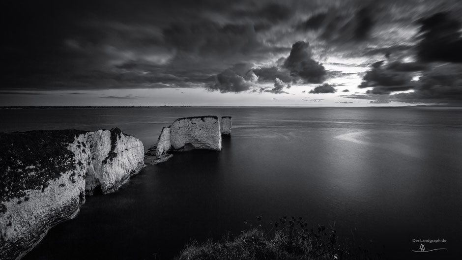 Old Harry Rocks, Isle of Purbeck, Swanage, Bournemouth, Dorset, England, GB, UK