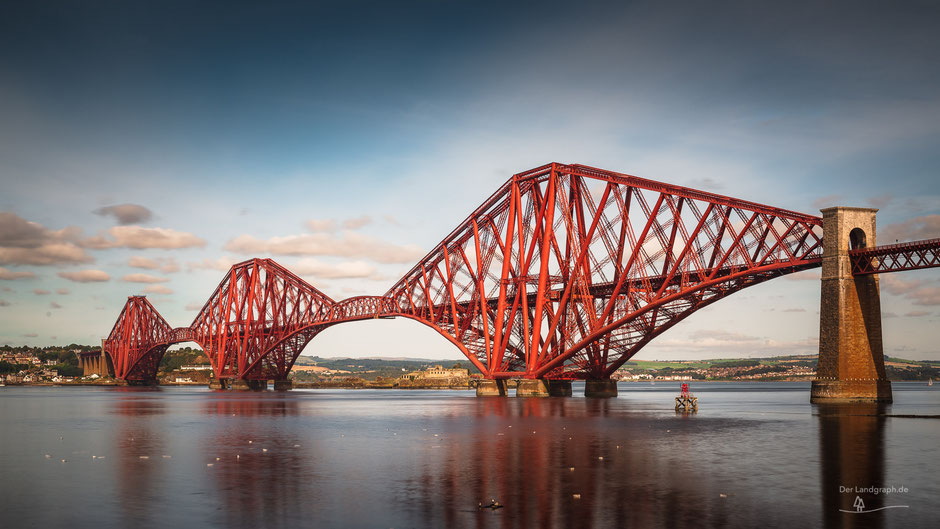 Forth Bridge, Edinburgh, Schottland, Architektur, Brücken