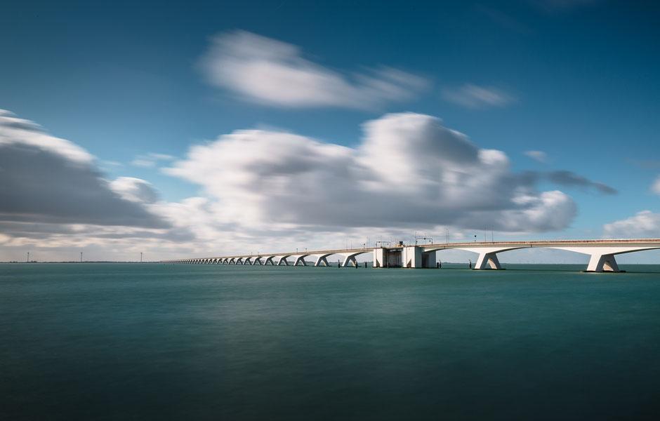 Zeelandbrug, Zieriksee, Zeeland, Niederlande, Architektur, Brücken