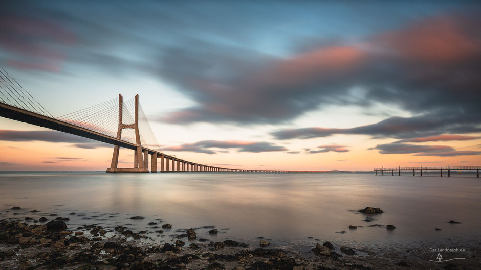 Ponte Vasco da Gama, Lissabon, Portugal, Architektur, Brücken