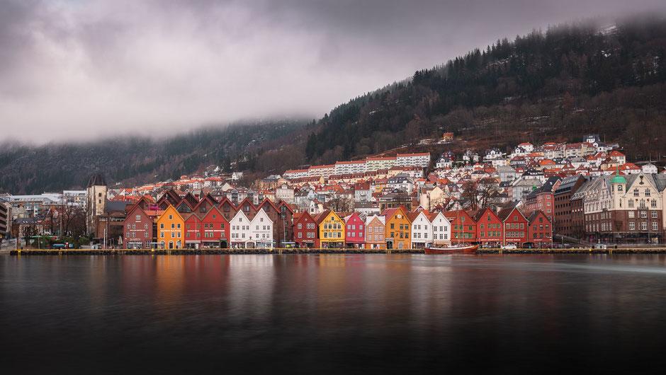 Bergen, Norwegen, Bryggen, Architektur, Skylines, Cityscape